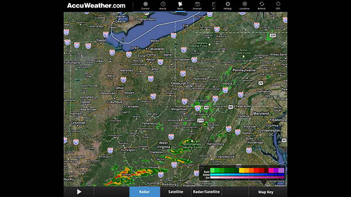 AccuWeather for Sony Tablet P screenshot 4