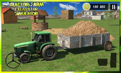 Tractor Farm & Excavator Sim- screenshot thumbnail