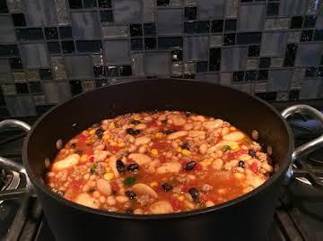 One Pot Easy Turkey Chili