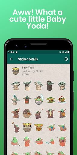 Stickers Collection for WhatsApp - WAStickerApps screenshot 3