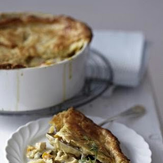 Chicken Pot Pie (Hähnchen à la King)