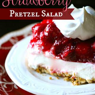 Strawberry-Pretzel Jello Salad.