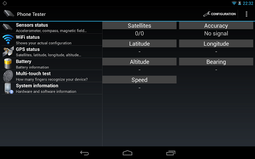 Phone Tester (hardware info) screenshot 11