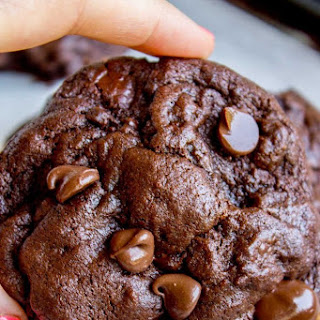 The Best Bakery Style Double Chocolate Chip Cookies Recipe