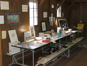 Photo: Camp - Silent auction display