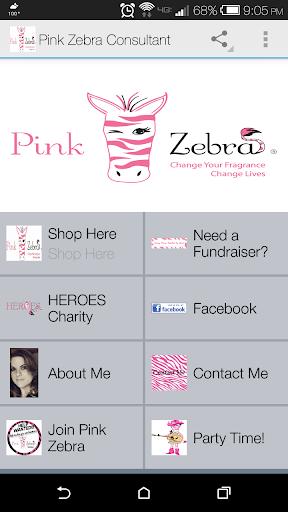 Mesa Pink Zebra Consultant