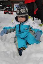 Photo: Oj niedobrze- zbyt ciężki...śnieg oczywiście:)