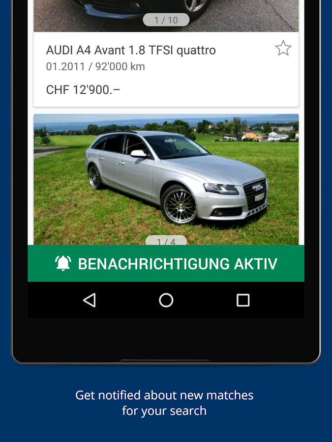 autoscout24 switzerland find your new car android apps on google play. Black Bedroom Furniture Sets. Home Design Ideas
