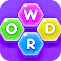 Word Hexa Cross - Best Words Puzzle Game icon
