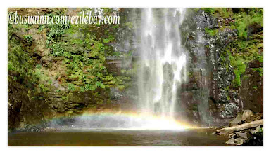 Photo: arc en ciel  à Wli waterfalls, Volta region, Ghana