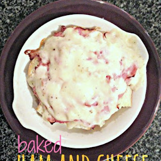 Baked Ham And Cheese..