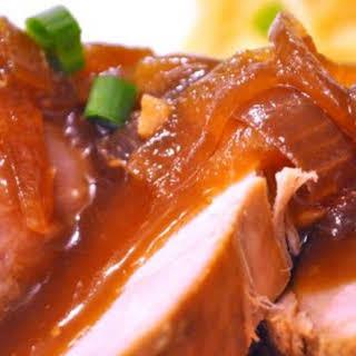 Slow Cooker Teriyaki Pork Tenderloin.