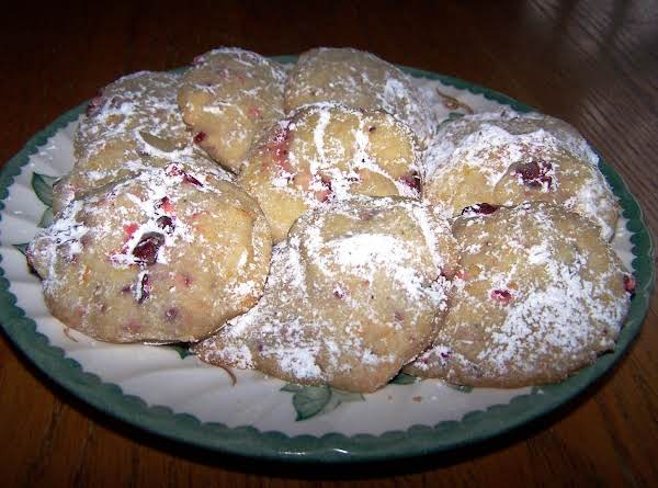 Cranberry Orange Meltaways Recipe