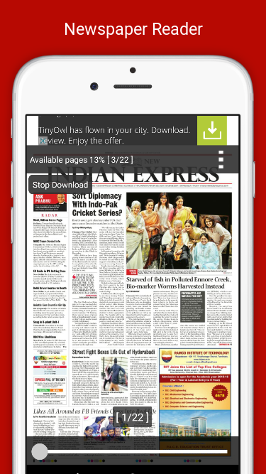 The New Indian Express- screenshot