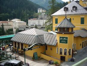 """Photo: Die """"Wasserfallterrasse"""" in Bad Gastein"""