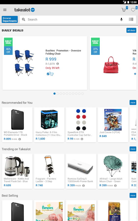 Takealot Online Shopping App Android Apps On Google Play