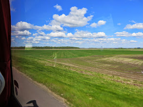 Photo: The bus back to Rigas.  The countryside looks like Wisconsin