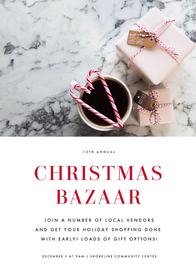 Christmas Bazaar - Christmas Card Template