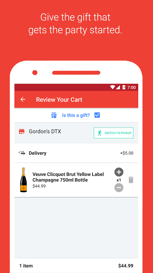 Drizly - Alcohol Delivery- screenshot