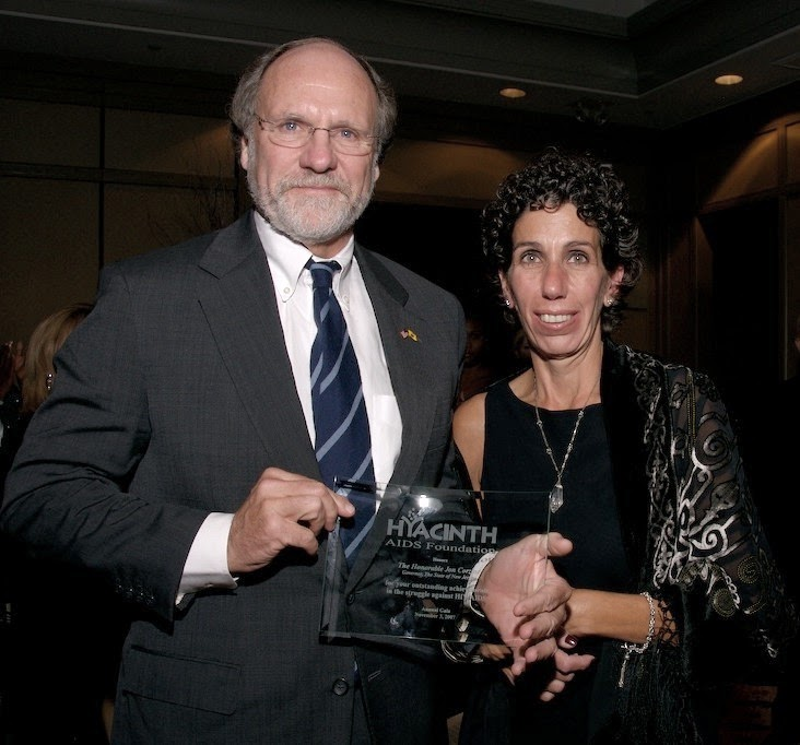 Jon Corzine and Riki Jacobs