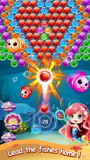 Mermaid Bubble Shooter Ball Pop: Fun Game For Free 1.5 screenshots 2