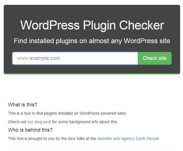 detectar plugin