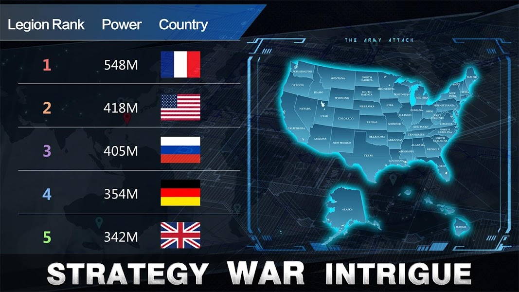 United Front:Modern War Strategy MMO