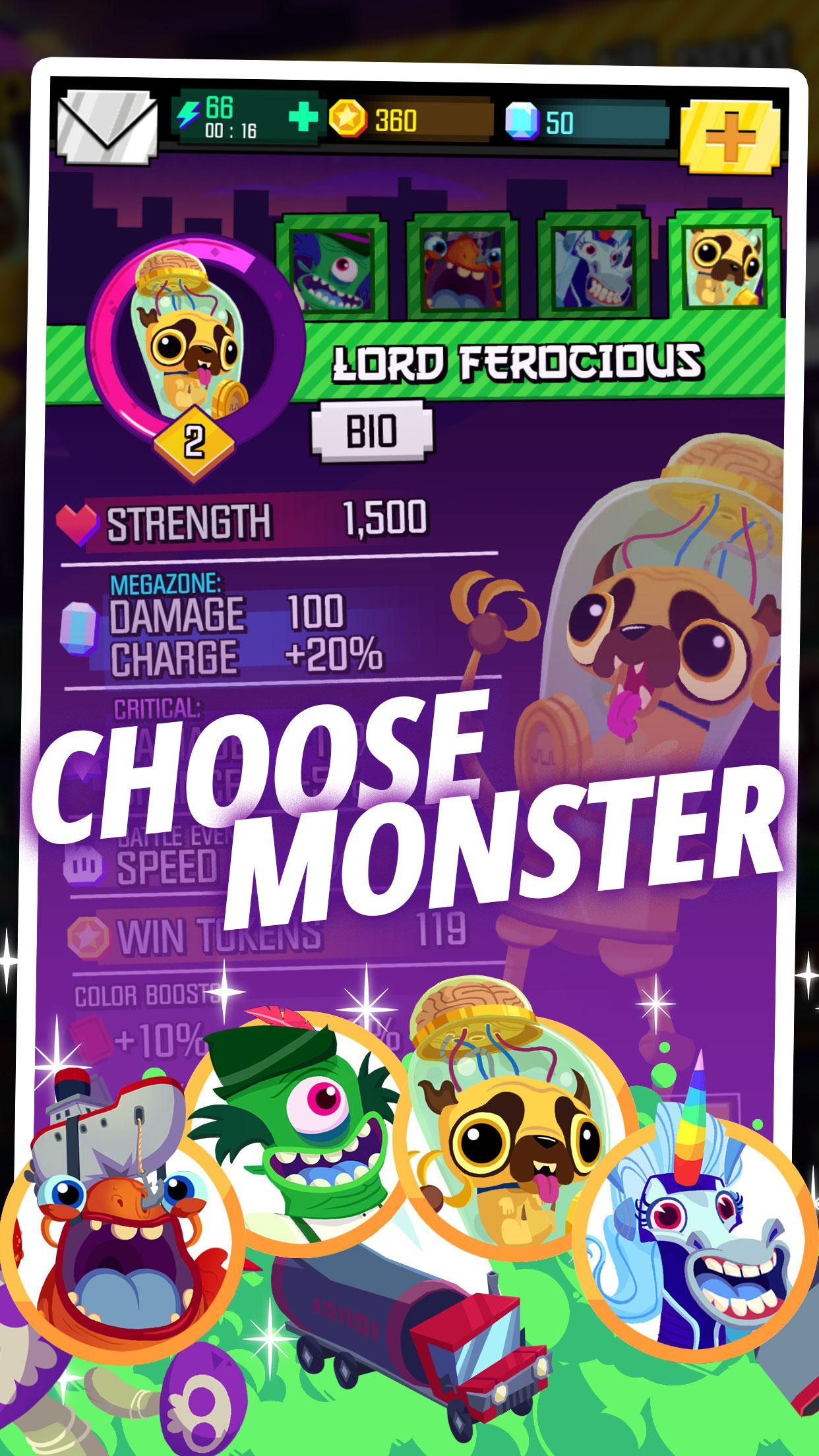 Monsters Ate My Metropolis screenshot #1