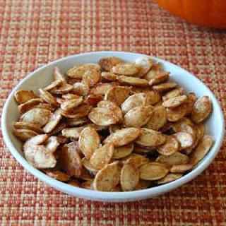 Sugar & Spice Pumpkin Seeds Recipe