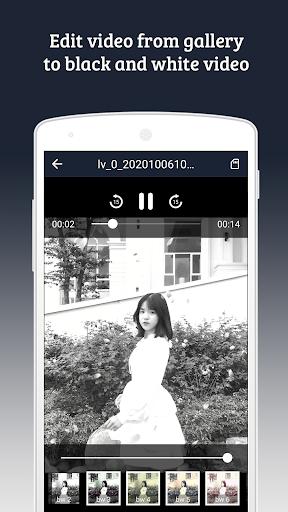black & white video recorder (b & w video editor) screenshot 3