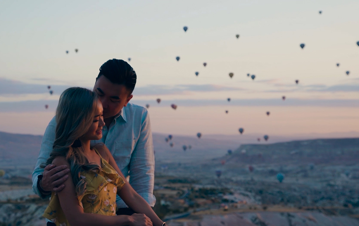 Candid Moments Cinematography overseas shoot