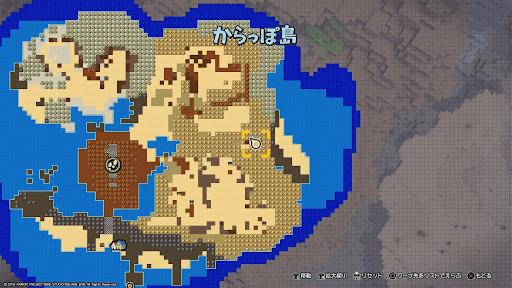 滝が流れる小屋-場所