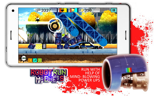 Robot Run Madness for PC