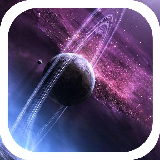 Saturn galaxy twinkle theme