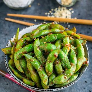 Spicy Sambal Edamame.