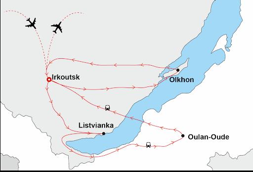 circuit sibérie