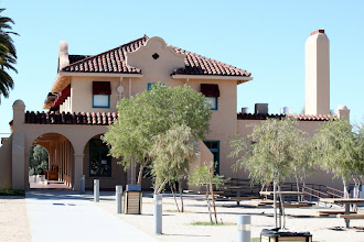 Photo: Kelso Depot -- An old train stopover in the middle of the Mojave Desert