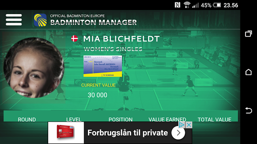 Badminton Manager 1.2.1 screenshots 1