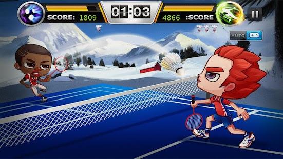 Badminton - náhled