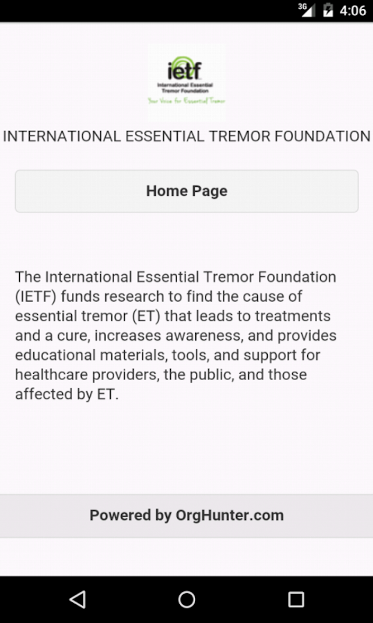 Essential Tremor- screenshot