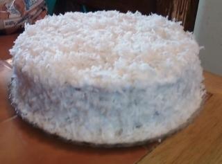 Grandma's Coconut Cake W/ Icing Recipe