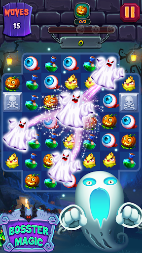 Halloween Witch - Fruit Puzzle apklade screenshots 1