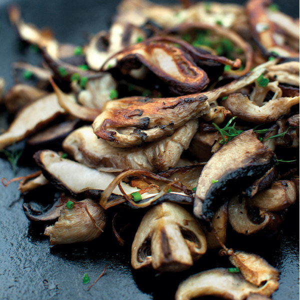 Cast-Iron Mushrooms Recipe | Yummly