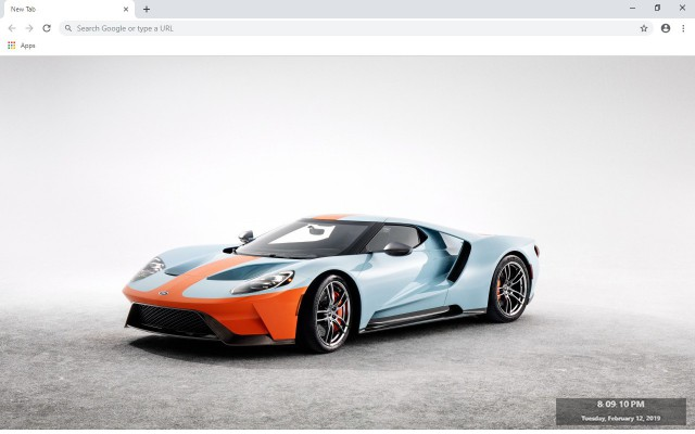 Zenvo TS1 GT New Tab & Wallpapers Collection