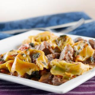 Olive Garden Copycat Beef Tortellini