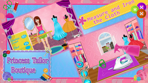 Princess Tailor Boutique Games 1.19 screenshots 8