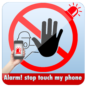 alarm! stop touch my phone Icon