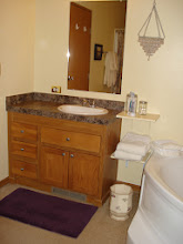 Photo: One of two sinks in master bath..bathroom is 14x13