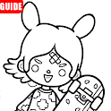 Guide for toca world life city University icon