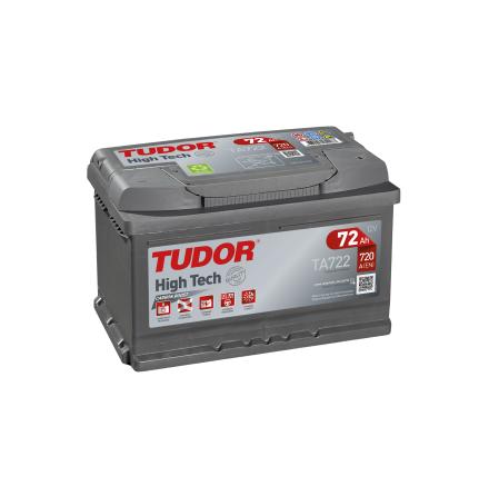 Tudor/Exidebatteri 12V/72Ah